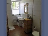 Ferienwohnung Bucheneck: das Bad