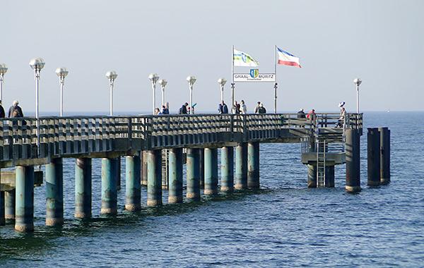 Seebrücke Graal Müritz